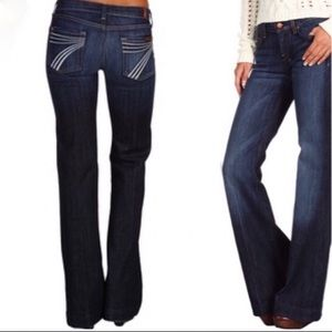 7 For All Mankind Dojo Flare Jeans (26)
